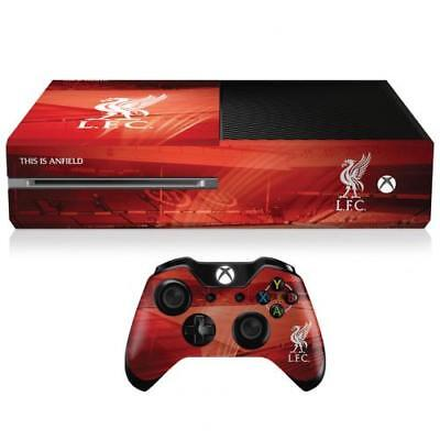 Liverpool Fc Xbox One Console And Controller Skin Bundle - Official Gift