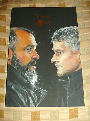 WOLVES  /  WOLVERHAMPTON WANDERERS  v  MANCHESTER UNITED     FA CUP 16/3/2019