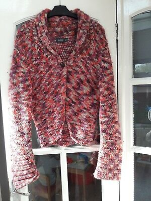 Chunky Knit Cardigan Size Medium