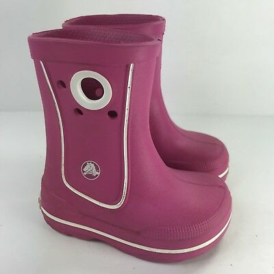 7139cb85df2 TOMS TODDLER GIRL Water Rain Boots Size 7 Pink Rubber Shoes - $6.50 ...