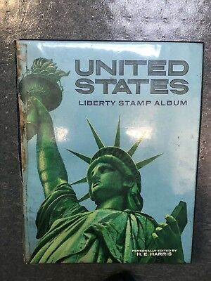 United States Liberty Stamp Album - 781 Stamps included