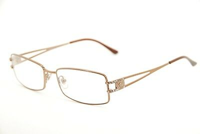 75b11fc03dffd New Authentic Versace 1092-B 1045 Copper Brown 53mm Eyeglasses RX Italy    Case