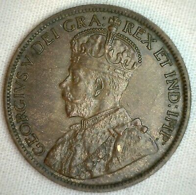 1916 CANADA LARGE 1c One Cent Coin Canadian 1 Penny King George V