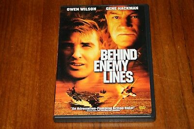 Behind Enemy Lines DVD, 2002 Owen Wilson, Gene Hackman Buy2Get1