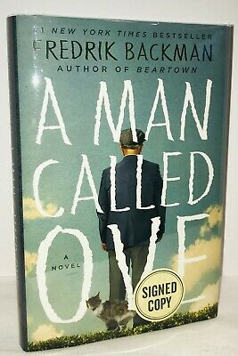 A Man Called Ove/Backman First Edition/Signed!  Fine/Fine!
