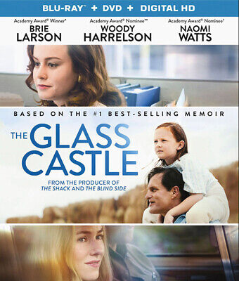 Glass Castle (Blu-ray Disc, 2017, 2-Disc Set)