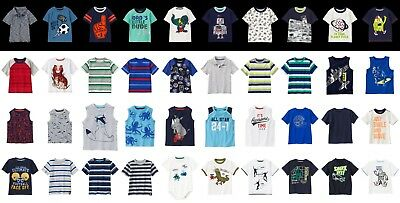 NEW Gymboree boys summer short sleeve size 3T 4T 5T NWT YOU PICK beach dino