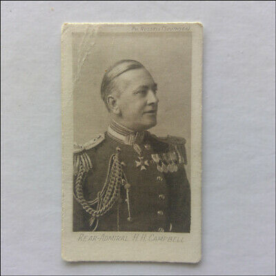 Rear Admiral H.H. Campbell The Great War 14 Westminster Cigarette Card (CC1)