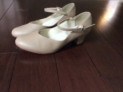 So Danca CH50 Tan Stage & Character Dance Shoes 5W