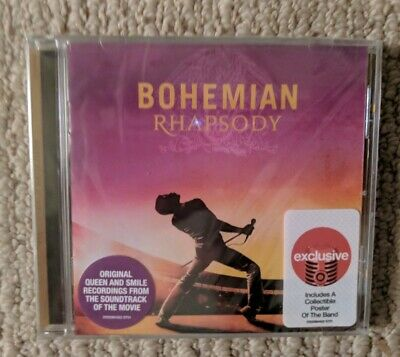 New Sealed Queen Bohemian Rhapsody Target Exclusive Soundtrack Cd Free Shipping