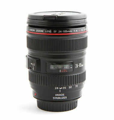 MINT, LNIB: Canon EF 24-105mm f/4L IS USM Lens, Hood, Pouch, Free Shipping