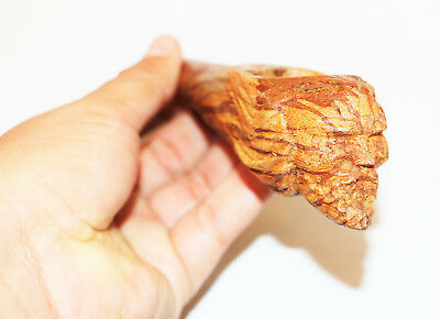 Ayahuasca pipe handcarved from Peru - handmade from ayahuasca bark