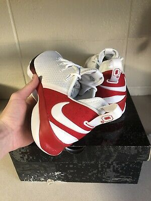 100% authentic bd5a9 8f955 Nike Lebron 14 Low Ohio State PE Size 12 Osu Player Exclusive Ds Brand New  OSU
