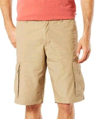 1f027d04af Men's Big & Tall Dockers Cargo Shorts Flat Front Size 46 Stretch Cotton ...