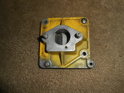 vintage mcculloch go kart manifold and reed assy