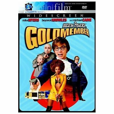 Austin Powers Goldmember DVD Mike Myers Beyonce Widescreen Infinifilm Used