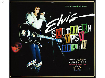 Elvis Southern Gypsy Magic 2xCD Straight Arrow Brand New Sealed Asheville 1975