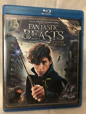 Fantastic Beasts and Where to Find Them - Blu Ray and DVD