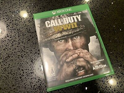 CALL OF DUTY WW2 - Xbox One *Mint Condition