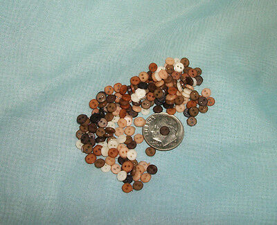 NEW HARVEST Mix BOGO 500+500 4mm  Tiny Doll Buttons