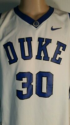 6a0974032c3 Nike Duke Blue Devils Elite Basketball Jersey  30 Seth Curry 2XL stains on  back