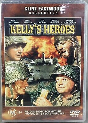 Kelly's Heroes (Dvd, 2002) R4 Pal - Like New / Excellent Condition