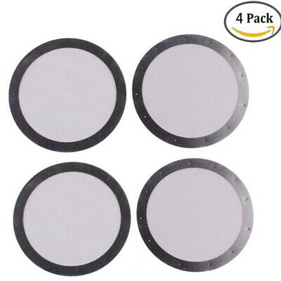 4X Metal Filter Ultra Fine 304 Stainless Steel Coffee Filter Pro For AeroPress