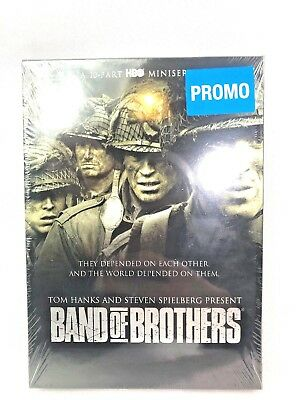 Band of Brothers (DVD, 2014, 6-Disc Set),New,HBO,Case,Series,WW2,Complete,Steven