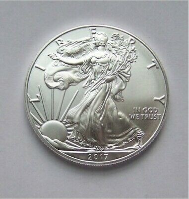 2017 American Silver Eagle 1 oz .999 Fine Coin - Brilliant Uncirculated