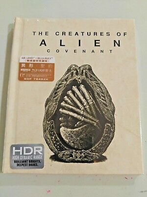 Alien Covenant 4K Ultra HD Blu-ray w/book Limited Edition (Hong Kong Ver)