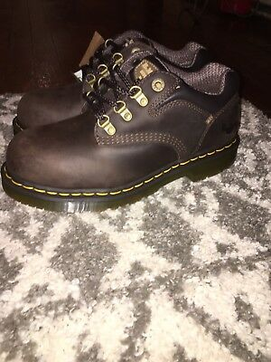 Dr. Martens Men's Steel Toe Industrial Work Safety Shoe Boot Padded Size 7M