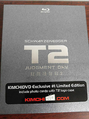 T2 Terminator 2 Judgment Day Bluray Steelbook Kimchidvd Exclusive