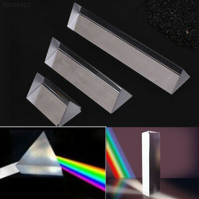 BF78 Optical Glass Triangular Prism Physics Teaching Spectrum Early Education