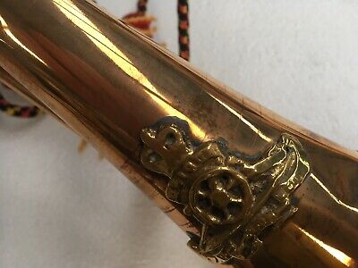 Artillery Brass / Copper Bugle - Reproduction Military Style ***