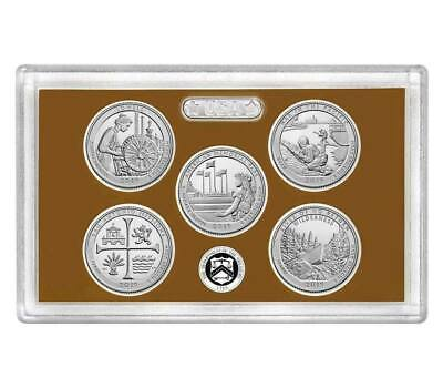 2019 S Clad Proof Five Quarter Atb Set No Box Or Coa