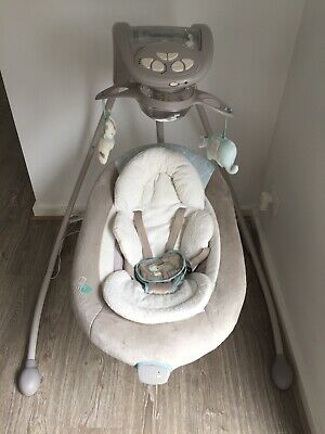 *ALMOST NEW! Ingenuity Inlighten Swing Retail At $399(baby Bunting).