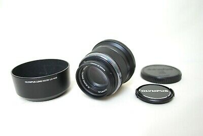 Olympus Pen M.Zuiko Digital 45mm f1.8 Lens micro four thirds From Japan Black