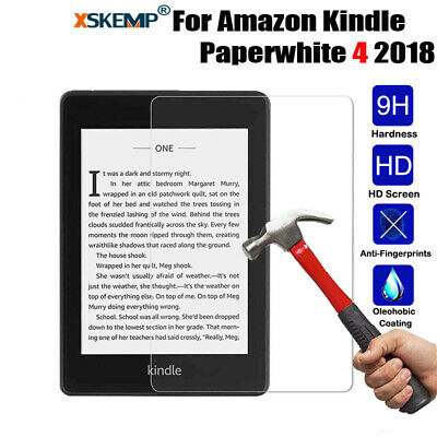 Tempered Glass Screen Protector For Amazon Kindle Paperwhite 4 2018 Fire HD 10/8