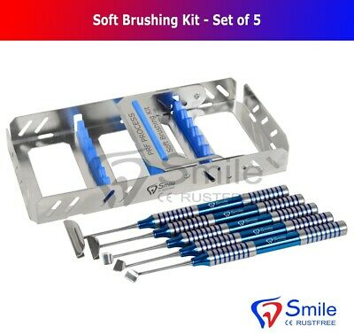 Dental Soft Brushing Kit With Free Sterilization Cassette Rack Tray ISO 13485 CE