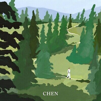 CHEN EXO - April, and a flower [April+Flower ver. SET]+2Posters+Gift+Tracking no