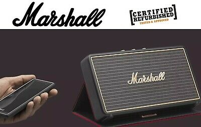 Marshall Stockwell Portable Active Speaker with Flip Cover & Bluetooth 4.0  *RFB