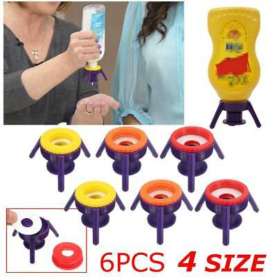 6Pcs Toss It Bottle Cap Stand Kit Economy Cap Kit A MUST HAVE In Your Kitchen