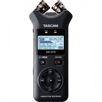 Tascam DR-07X Stereo Handheld Recorder & USB Audio Interface - Brand New