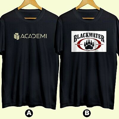 ACADEMI BLACKWATER Military Private Army T-shirt Cotton 100% New