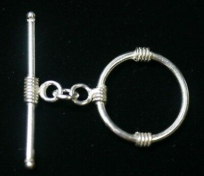 925 Sterling Silver 2.8x15mm Curved Tube Bail w// Open Ring 4pcs   #5532-8