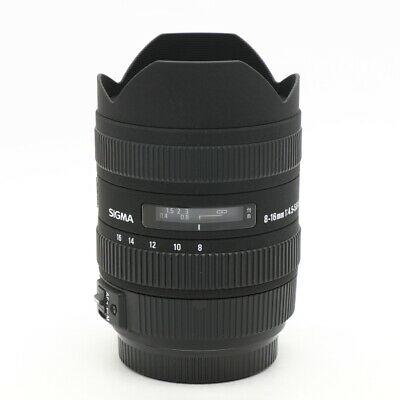 SIGMA 8-16mm F4.5-5.6DC HSM (for SONY A) -Near Mint- #316