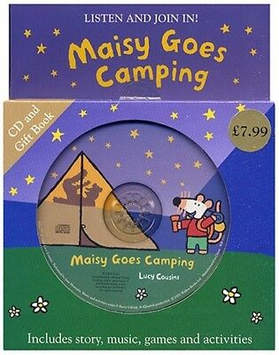Acceptable, Maisy Goes Camping (Book & CD), Cousins, Lucy, Book