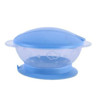 Food Snack Cup Safe Pot Toddler Baby Kid Bowl No-Spill Bowl Container  FI