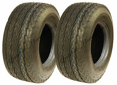 16.5x6.50-8 trailer tyre, 6ply, high speed, road legal, mower, golf, - set of 2.