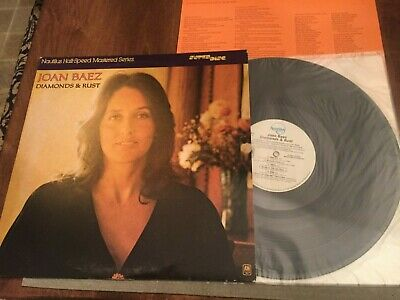 Joan Baez Diamonds & Rust Vinyl Record LP 1980 Nautilus Half-Speed Super Disc